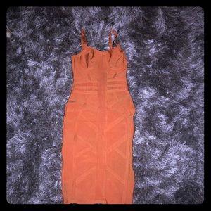 Bandage midi dress